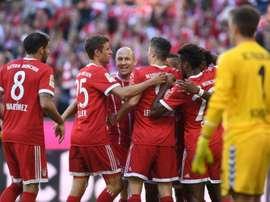 Bayern Munique voltou a vencer no campeonato. AFP