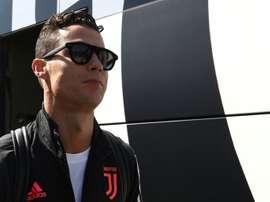 Cristiano s'est livré. AFP