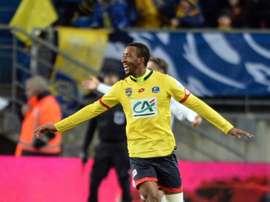 Moussa Sao est un joueur du Red Star. AFP