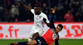 El Lille no pasó del empate sin goles ante el Metz. AFP