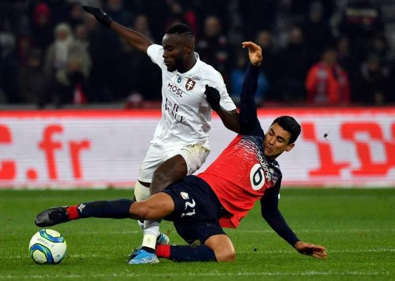 Lille confirme ses difficultés face à Metz. AFP