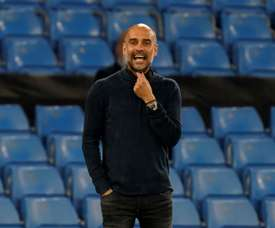 Pep Guardiola has a big decision to make about his squad. AFP