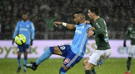 Marseille lose two points and 'keeper in Saint Etienne blizzard. AFP