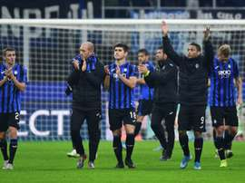 San Siro está siendo la casa del Atalanta en Champions. AFP