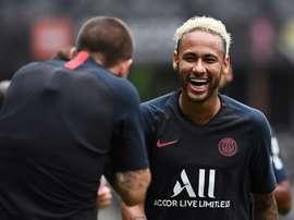Réconciliation en cours entre Neymar et le PSG ? AFP