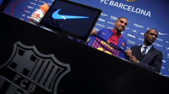 L'avenir de Denis Suarez est incertain. AFP