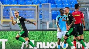 La Lazio Rome n'y arrive plus du tout. AFP