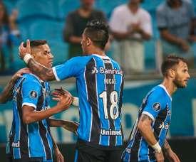Los brasileños, a punto de renovar a uno de sus jugadores. AFP