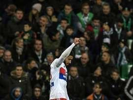 El Lyon metió la directa y ya está en dieciseisavos de final. AFP/Archivo