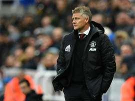 Il tecnico norvegese dello United è in bilico. AFP