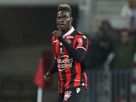 Balotelli, decisivo en la Ligue 1. AFP