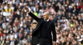 Le casting de Zidane. AFP