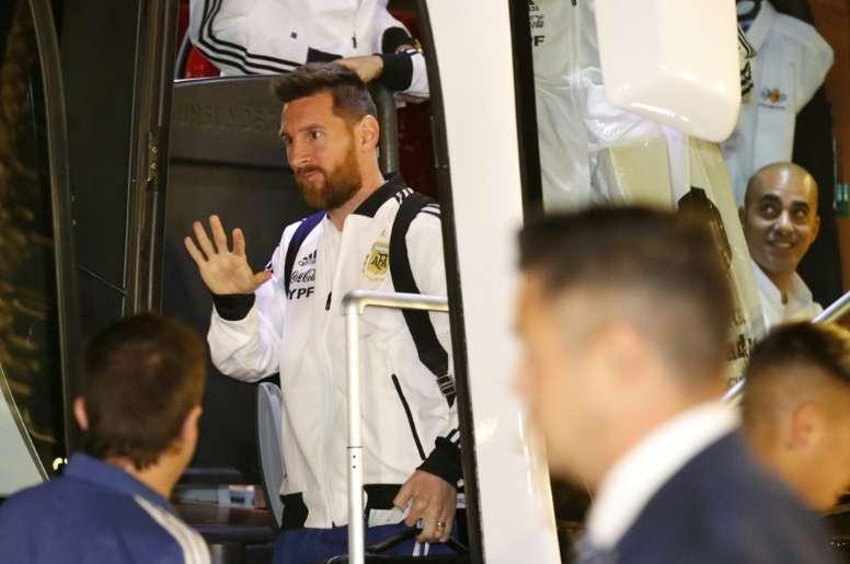 Messi et l'Argentine en Israël pour un match amical contre l'Uruguay. AFP
