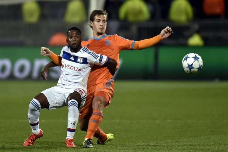 Kalulu pictured playing for Lyon in 2015. AFP