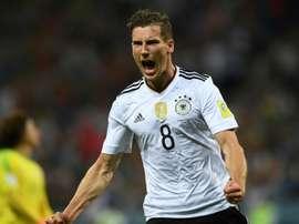 O meia tem conquistado o seu espaço na 'Mannschaft'. AFP
