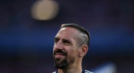 Ribéry está en el punto de mira. AFP