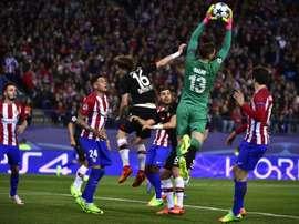Atlético de Madrid - Bayer Leverkusen: onzes iniciais confirmados. AFP