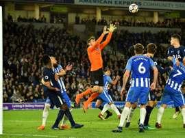 Brighton sauve un point face à Tottenham. AFP