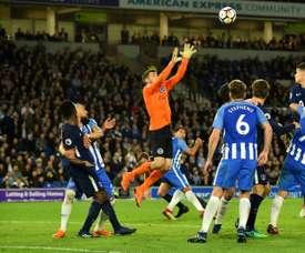 Tottenham empata frente ao Brighton. AFP