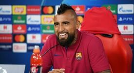 Los abogados de Barça e Inter aún redactan el contrato de traspaso. AFP
