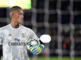 Areola fait ses grands débuts avec le Real. AFP
