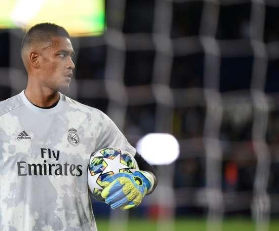 Areola continuará no Real Madrid. AFP