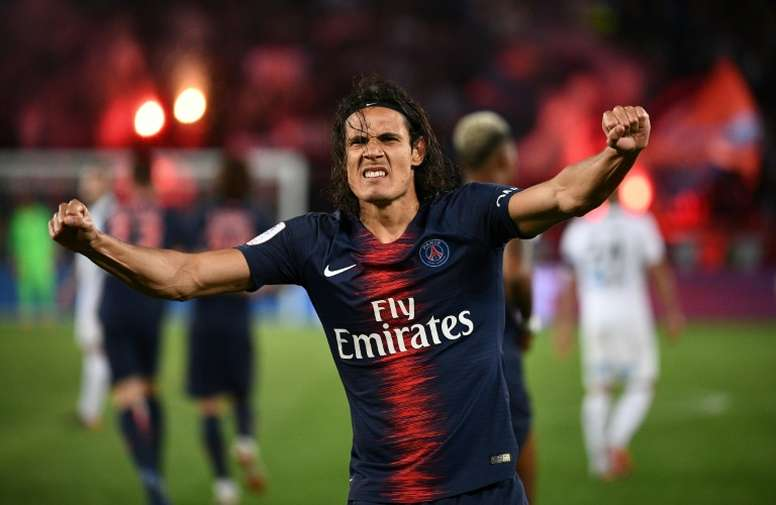 Cavani could leave PSG. AFP