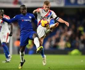 Kanté es una de las estrellas del Chelsea. AFP