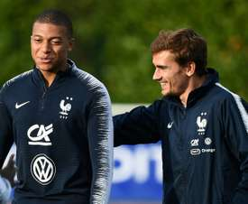 Griezmann would be ahppy if a fellow frencham won the award. AFP