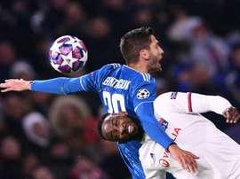 Les compos probables du match de Ligue des champions entre la Juve et Lyon. AFP