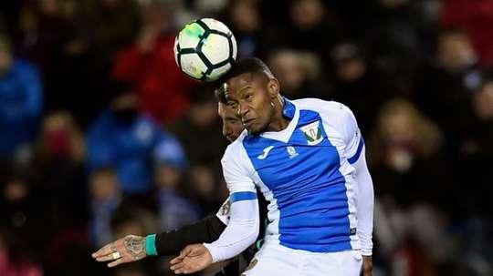 L'attaquant a été prêté par le Celta Vigo. AFP