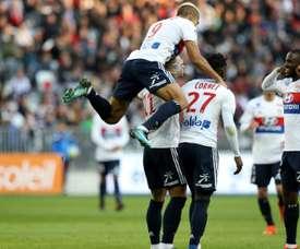 El Olympique de Lyon se ha dado un festín en el Allianz Riviera. AFP