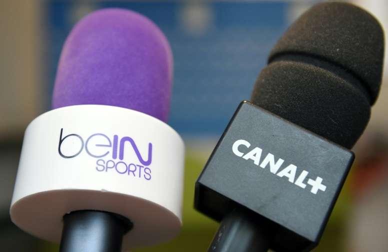 Canal+ va rester diffuseur de la L1, via un accord avec BeIN Sports. AFP