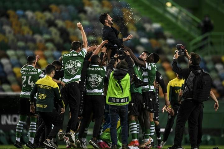 Le Sporting CP glane la Supercoupe du Portugal aux dépens du SC Braga. afp