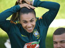 Marta absente face à la Jamaïque. AFP