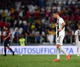 Bessa anotó el gol del empate en un error defensivo de la Juve. AFP