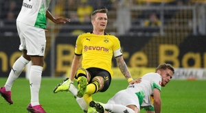 Dortmund sans Reus ni Alcacer mais avec Sancho contre l'Inter. AFP