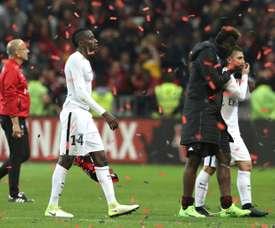 Blaise Matuidi et le PSG quittent lAllianz Riviera sur une défaite devant lOGC Nice