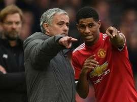 Mourinho tem lançado Rashford em vários jogos. AFP