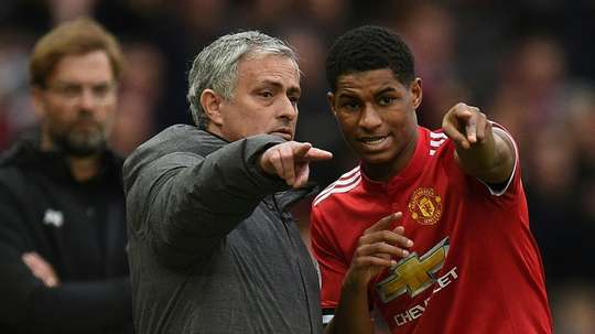Marcus Rashford is likely to feature for Manchester United. AFP
