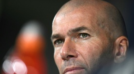 Anular Messi, a obsessão de Zidane. AFP