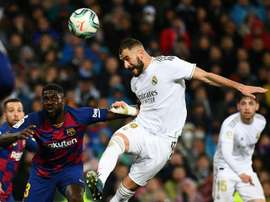 Benzema is in top form. AFP