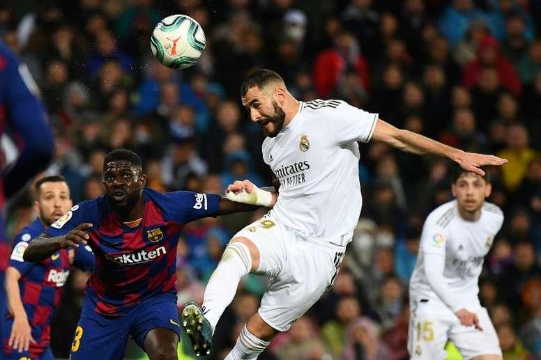 Real Madrid e Barça é um dos grandes clássicos do mundo do futebol. AFP