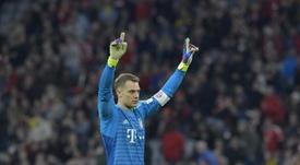 Neuer se ha convertido en un muro para el Hertha Berlin. AFP