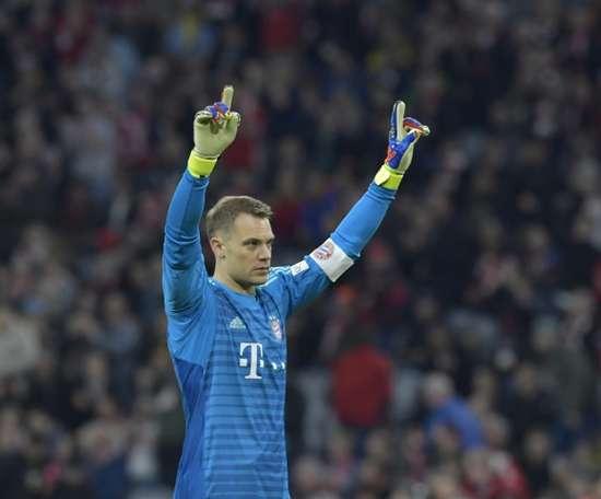 O Bayern quer renovar com Neuer. AFP