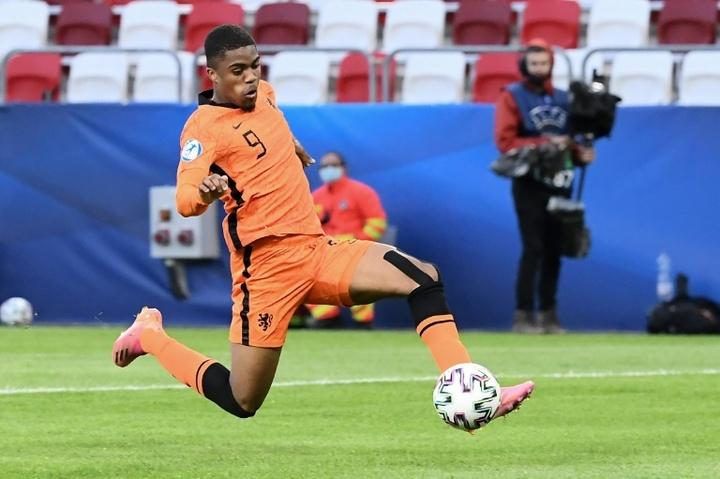 El Mónaco se fija en el joven Myron Boadu. AFP