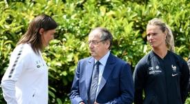 Le Graët fier de la qualifications des Bleues malgré les tensions. AFP