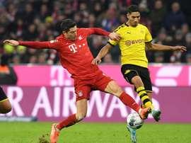 Les compos probables du match de Bundesliga entre Dortmund et Bayern. afp