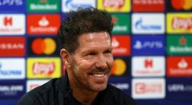 Diego Simeone comentou a vitória sobre o Celta em Vigo. AFP/Arquivo