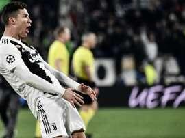 Ronaldo could be sanctioned. AFP